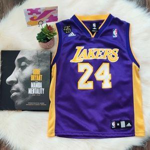 Lakers Kobe #24 M youth S Women's Jersey